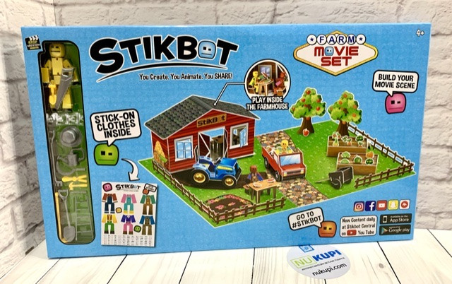 Набор для анимации СТИКБОТ *STIKBOT* Farm set ФЕРМА JM-06D