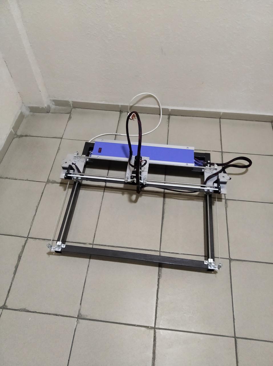 Лазерний гравер 5,5 Вт з робочим полем 30*40 див. Новий. Україна