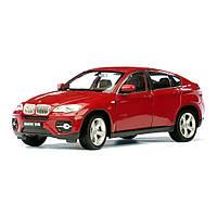 Машина BMW X6 1:24 WELLY, красная
