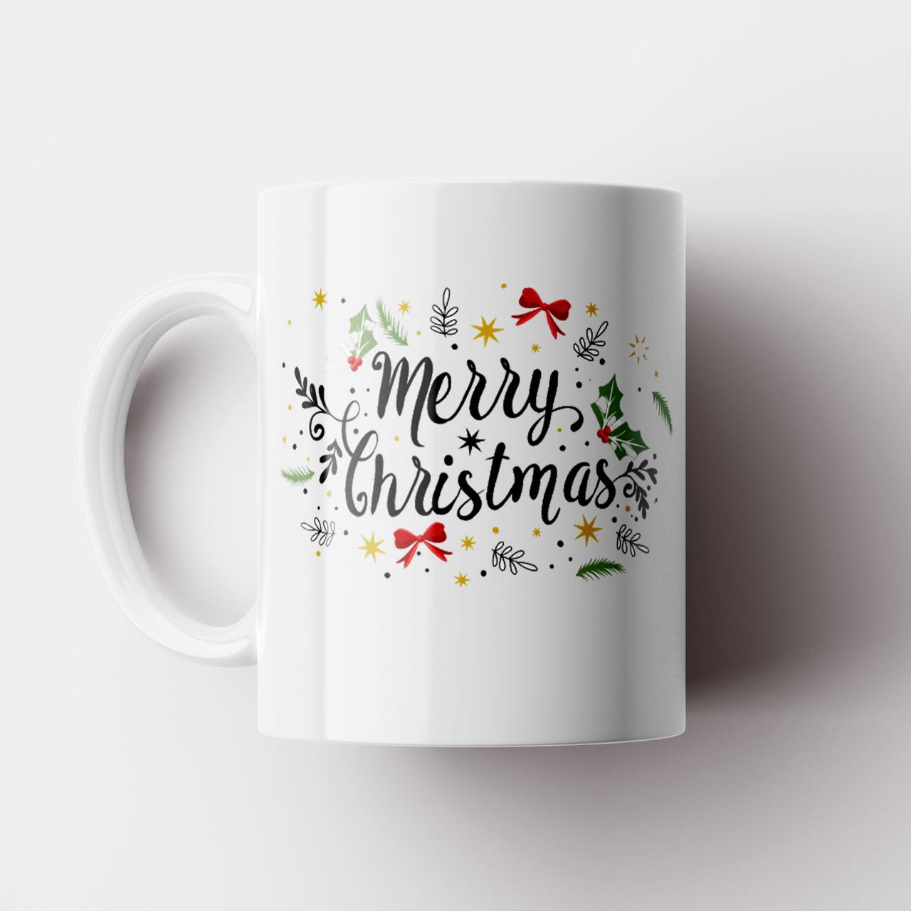 Чашка Merry Christmas. Новорічна чашка №2. Новий Рік