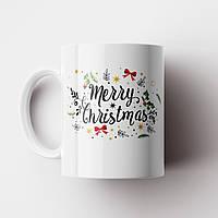 Чашка Merry Christmas. Новорічна чашка №2. Новий Рік, фото 1