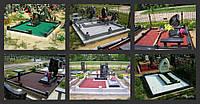 Декоративный цветной щебень (крошка) для оформления могил (памятников,надгробий)