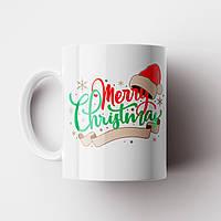 Кружка Merry Christmas. Новогодняя чашка №3. Новый Год
