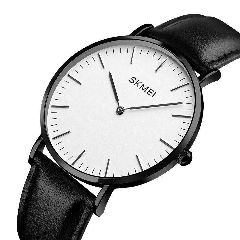 Классические часы Skmei (Скмей) 1181 black men size