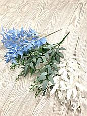 Декоративная ветка рускус белый ( 50 см ), фото 3