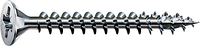 Саморез SPAX с покр. WIROX 4,5х50, полная резьба, потай, PZ2, 4CUT, упак. 500 шт., пр-во Германия