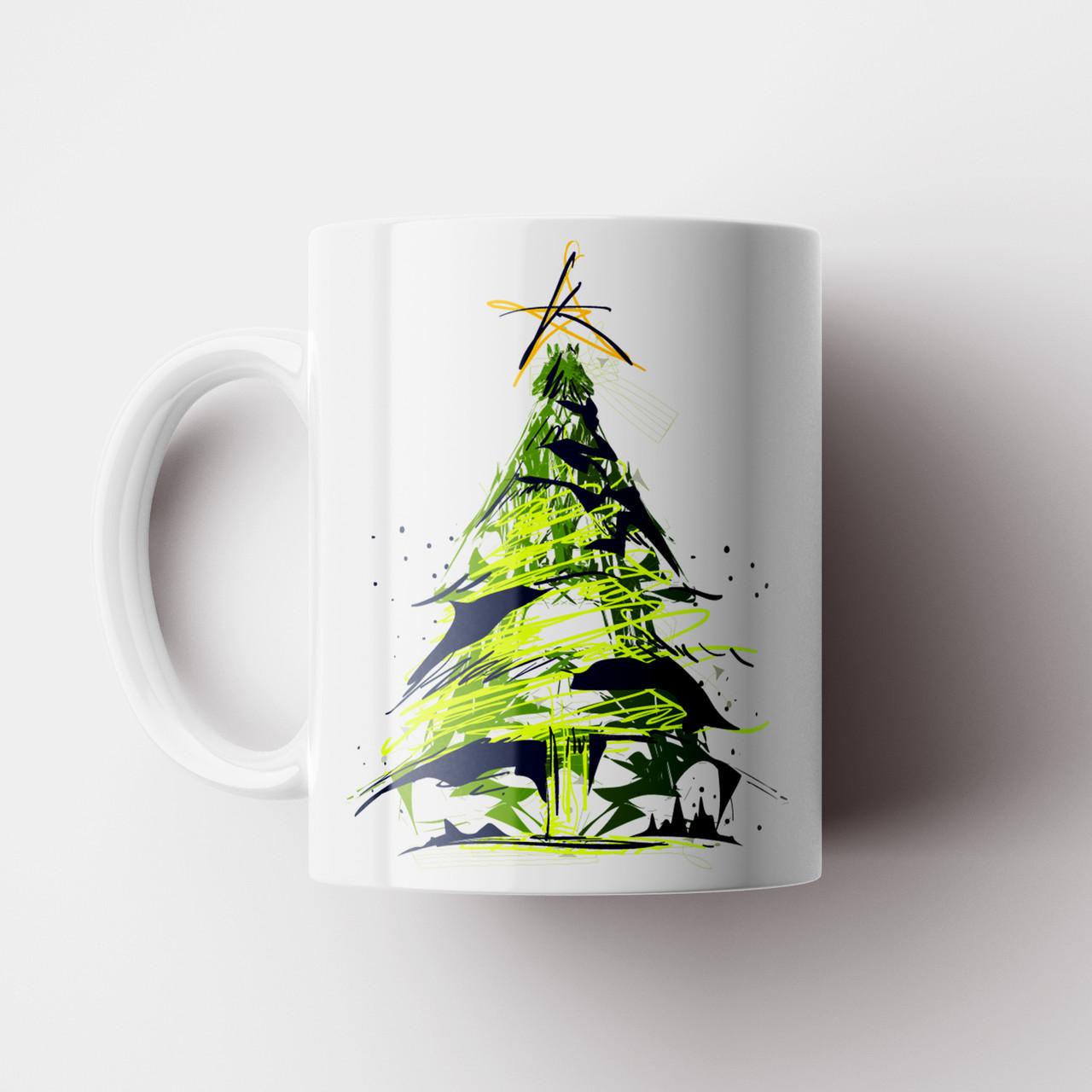 Кружка Ёлка. Merry Christmas. Новогодняя чашка №9. Новый Год
