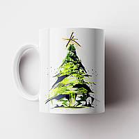 Кружка Ёлка. Merry Christmas. Новогодняя чашка №9. Новый Год, фото 1