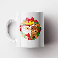 Чашка Ялинка. Merry Christmas. Новорічна чашка №10. Новий Рік, фото 1