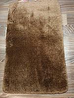 Набор ковриков для ванной комнаты коричневый 60*100, фото 1