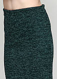 Женский костюм трикотаж с кружевом, фото 3