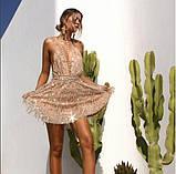 Женский  сарафан с открытой спинкой, фото 3