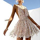 Женский  сарафан с открытой спинкой, фото 5