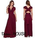Женское модное яркое платье- трансформер, фото 9