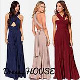 Женское модное яркое платье- трансформер, фото 2