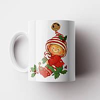 Кружка Merry Christmas. Новогодняя чашка №14. Новый Год, фото 1