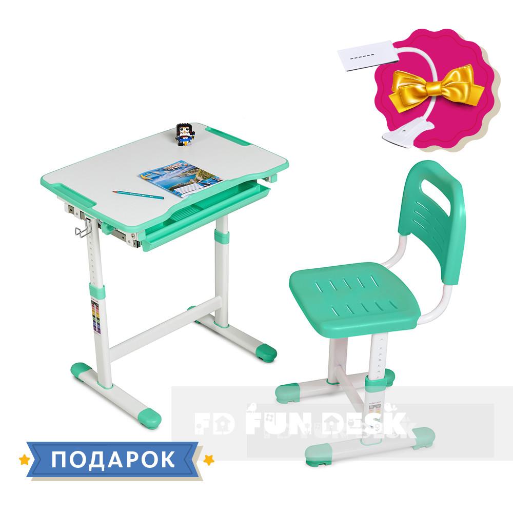 Детская парта со стульчиком  Piccolino Green FunDesk