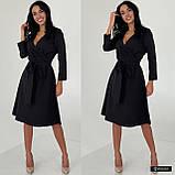 Жіноче плаття міді з поясом, фото 5