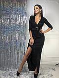Женское вечернее сияющее платье, фото 3