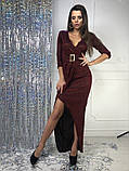 Женское вечернее сияющее платье, фото 4