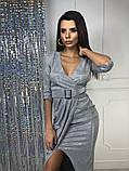 Женское вечернее сияющее платье, фото 7