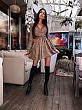 Женское платье с завязками на талии, фото 2