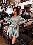 Женское платье с завязками на талии, фото 6