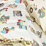 Комплект постельного белья детский ранфорс 20123 бежевый ТМ Вилюта, фото 3