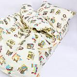 Комплект постельного белья детский ранфорс 20123 бежевый ТМ Вилюта, фото 2