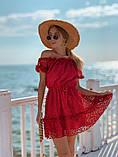 Женское летнее нежное платье мини, фото 2