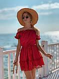 Женское летнее нежное платье мини, фото 4
