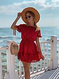 Женское летнее нежное платье мини, фото 5