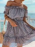 Женское летнее нежное платье мини, фото 8