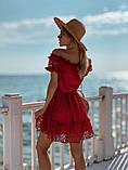 Женское летнее нежное платье мини, фото 10
