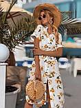 Женское летнее нежное платье из шелка, фото 4