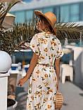 Женское летнее нежное платье из шелка, фото 5