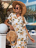 Женское летнее нежное платье из шелка, фото 6