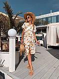 Женское летнее нежное платье из шелка, фото 7