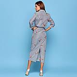 Женское повседневное нежное платье миди, фото 2