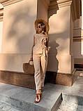 Женский  базовый повседневный  костюм, фото 6