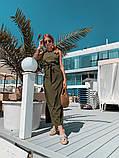 Женское летнее яркое платье миди, фото 3