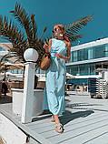 Женское летнее яркое платье миди, фото 5
