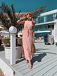 Женское летнее яркое платье миди, фото 6