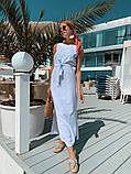 Женское летнее яркое платье миди, фото 7