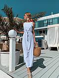 Женское летнее яркое платье миди, фото 8