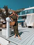 Женское летнее яркое платье миди, фото 10