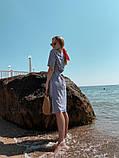 Женское летнее яркое платье в полоску, фото 4