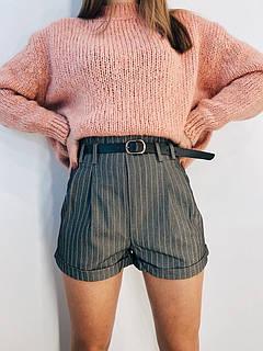 Жіночі шорти в смужку