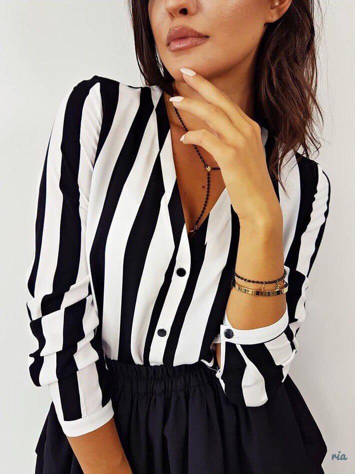 Жіноча Блуза в смужку