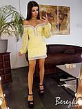 Платье из прошвы с кружевной отделкой, фото 3